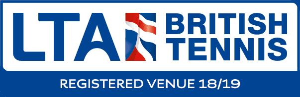 LTA Registered Venue logo
