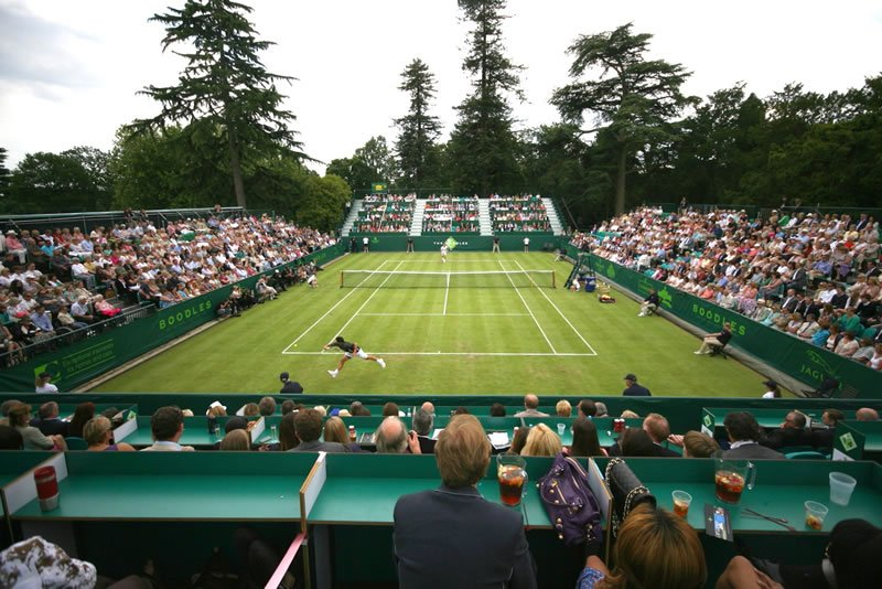 The Boodles tennis exhibition tournament