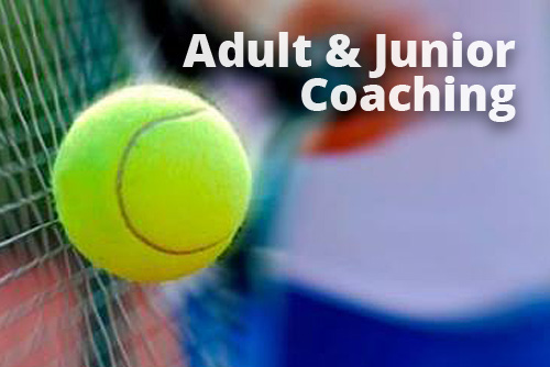 Crowthorne Tennis Club offers both adult and junior coaching