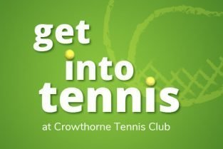 Get into tennis at Crowthorne Tennis Club