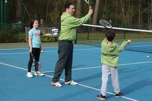 junior tennis coaching